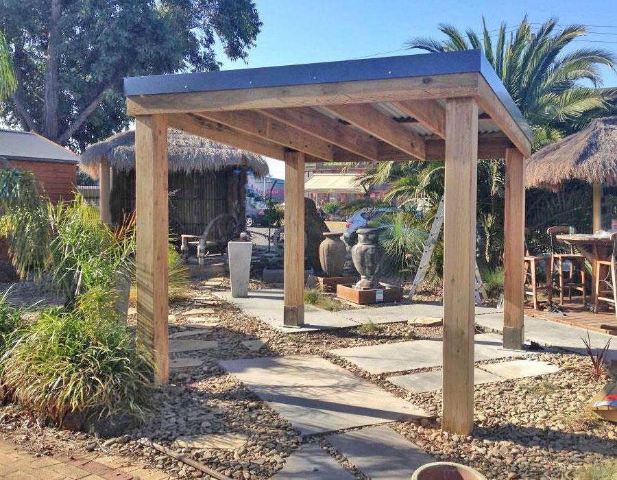 natural-pergola - Pergola Vs Gazebo: Aarons Outdoor Living