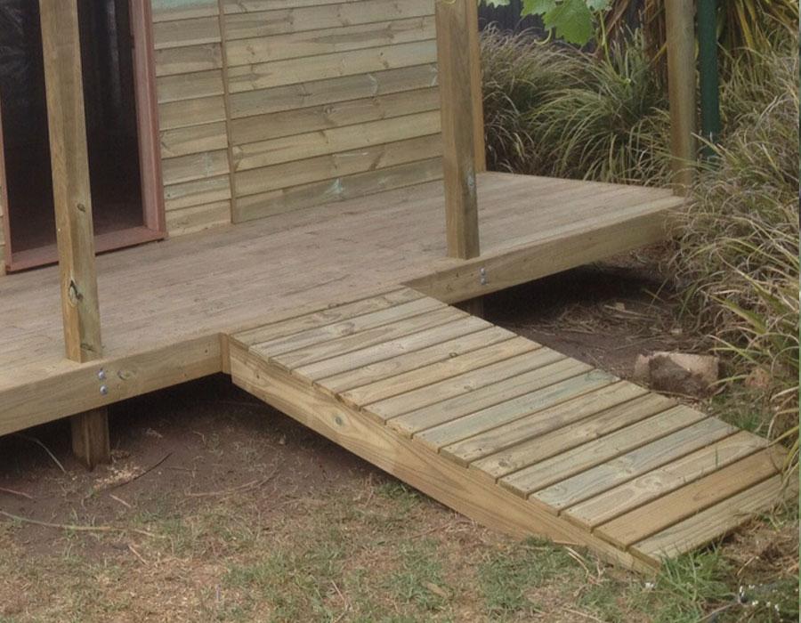 Timber Ramp