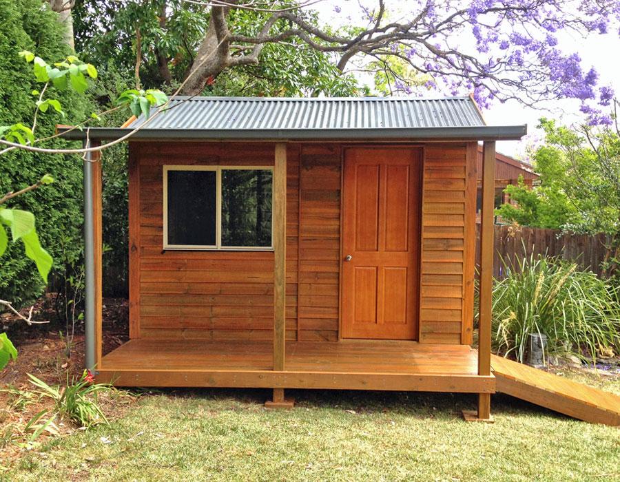 Building A Studio In The Backyard studios & creative workplaces - aarons outdoor living