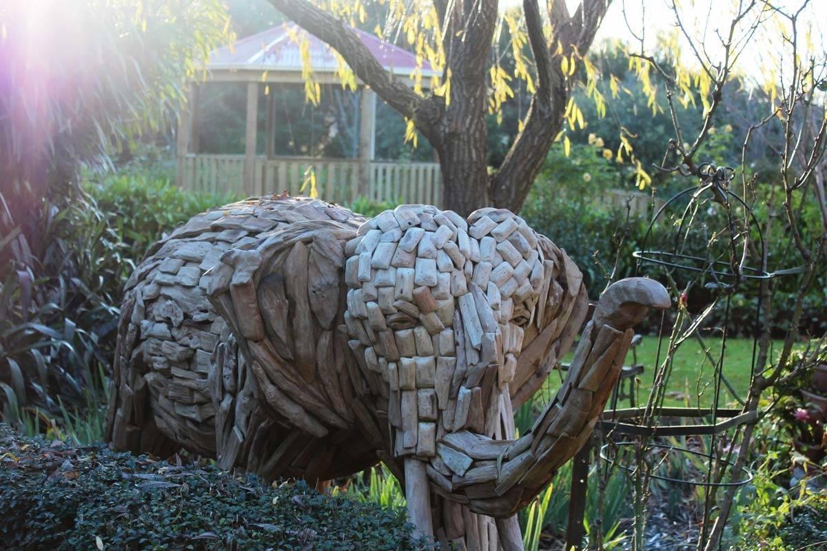 timber-elephant-garden